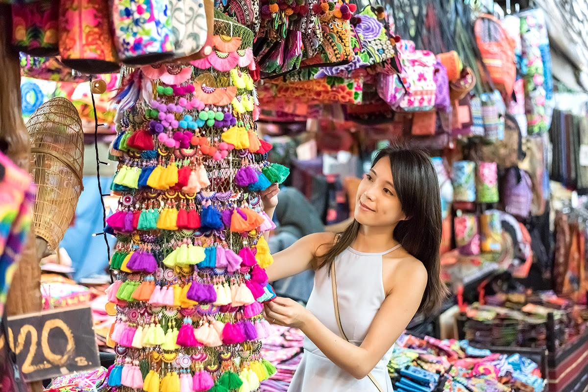 Du lịch Băng Cốc-Thái Lan-Chợ Chatuchak