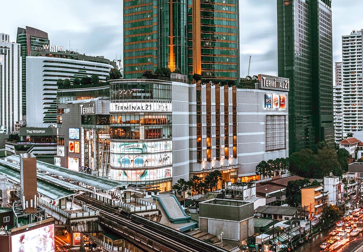 Du lịch Băng Cốc-Thái Lan-Trung Tâm Mua Sắm Terminal 21