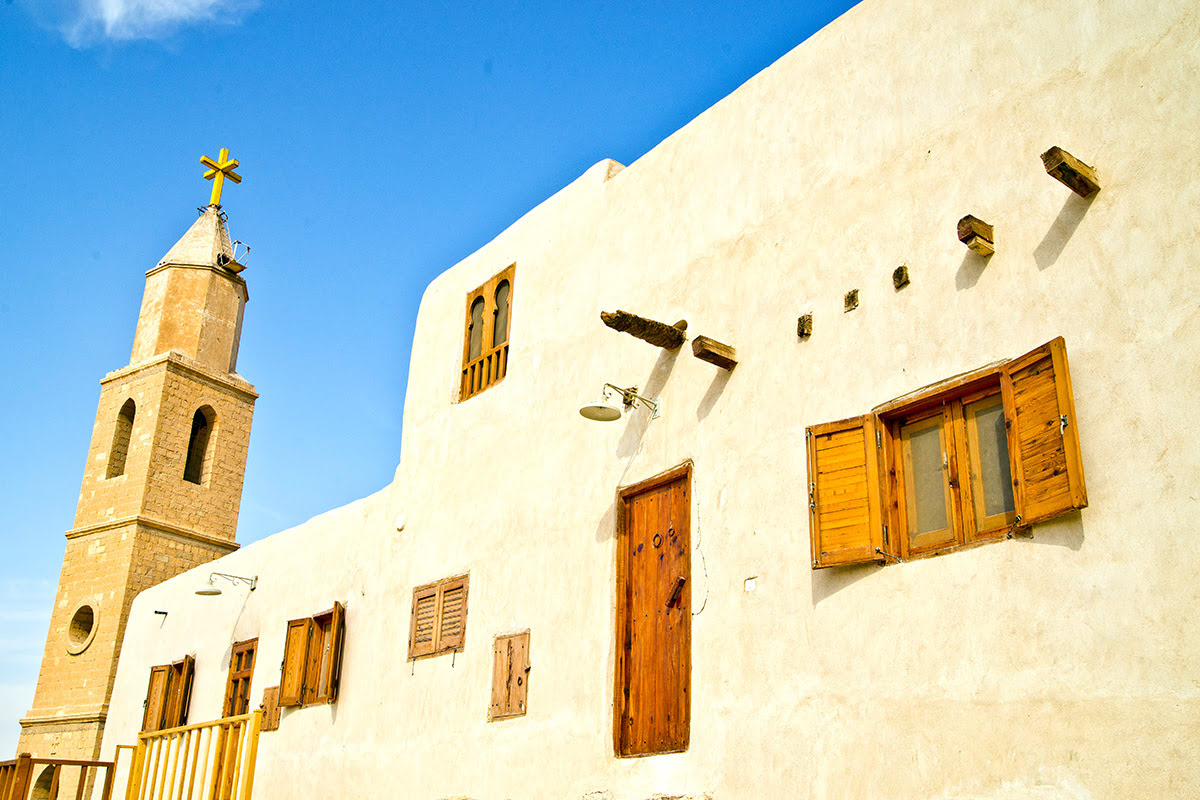 Attractions in Egypt-Monastery of Saint Anthony