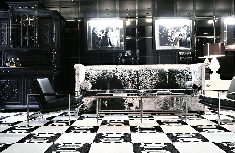 Hotels with black and white themes-Night Hotel Theater District