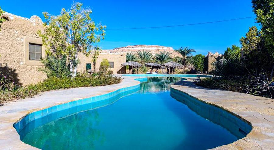 Hotels in Alexandria-Egypt attractions-Siwa Shali Resort