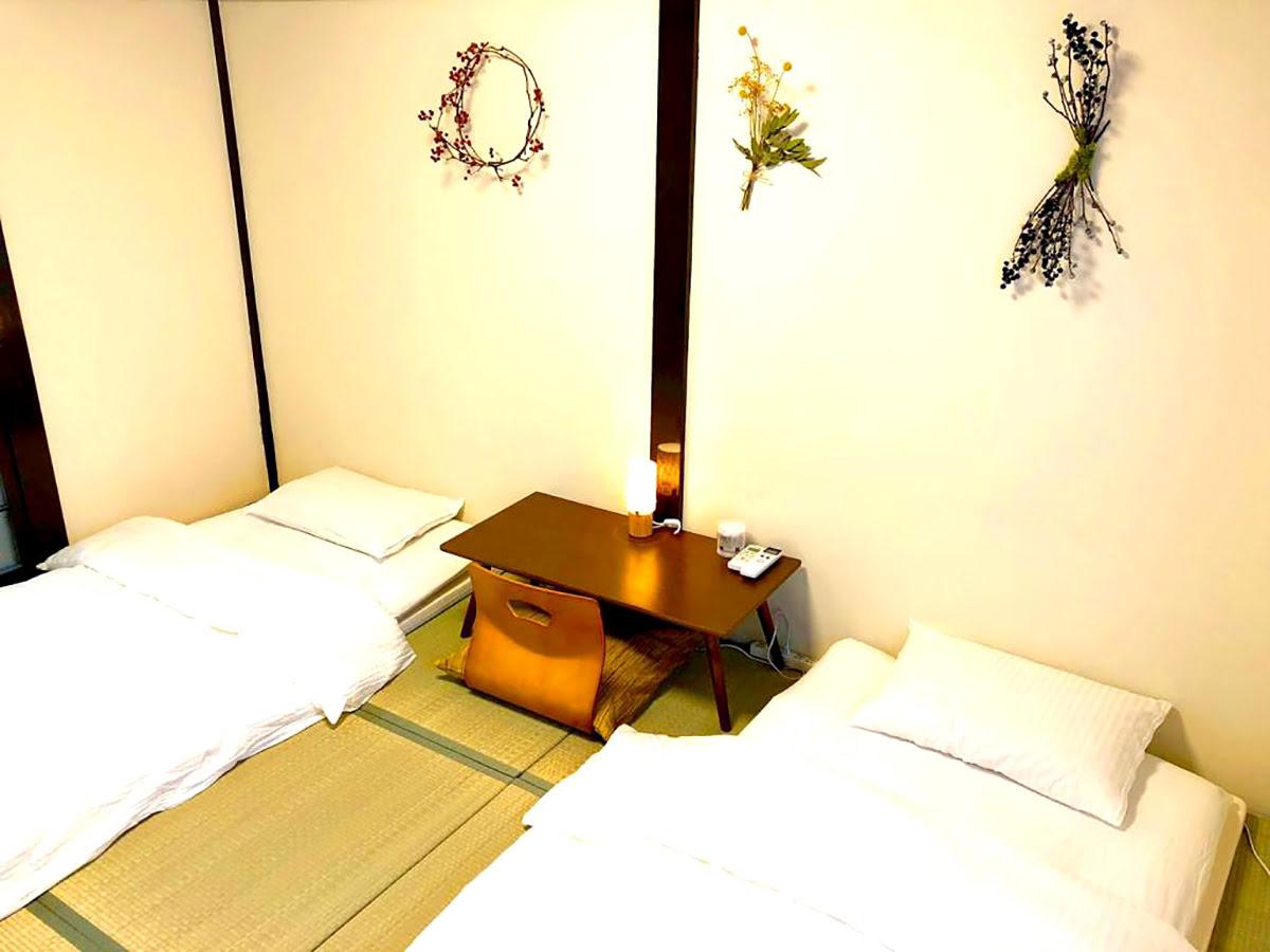 Traditional houses in Kyoto-machiya-rental homes-BlackFriday Sale Historic Wooden House! Hasu KT-1