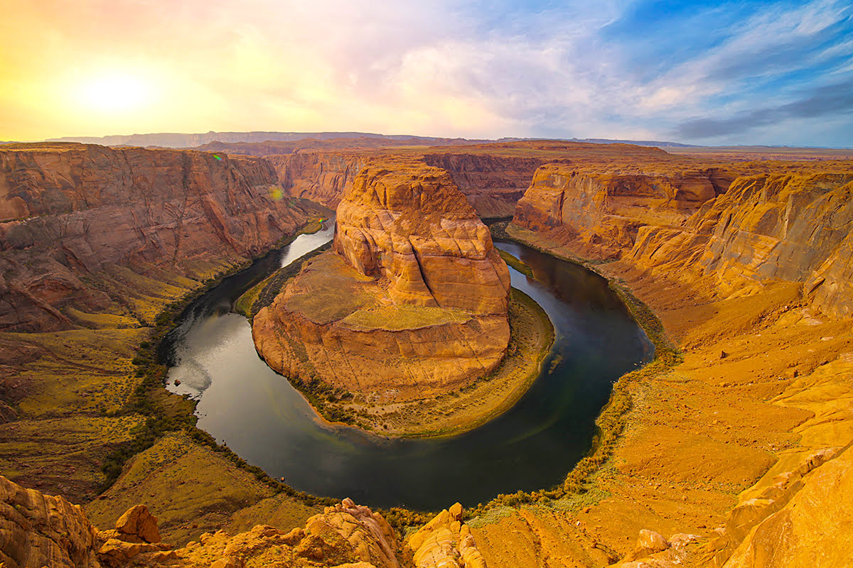 Antelope Canyon tours-southern Utah hiking-Horseshoe Bend