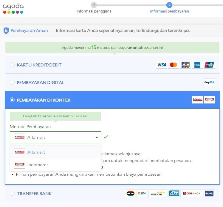 Agoda Introduces Bank Transfers And Other Alternative Payment Methods To Help Indonesians Travel More Agoda Check In Step Out