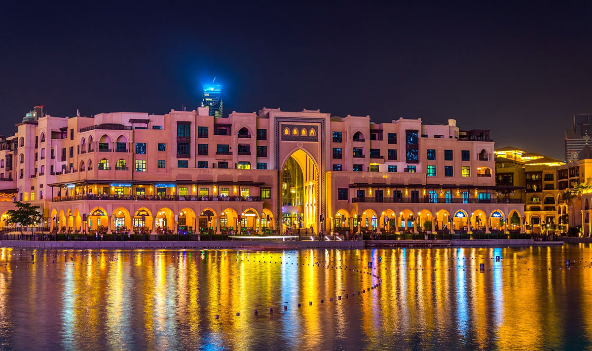 The Dubai Mall-UAE-United Arab Emirates-shopping-The Souk