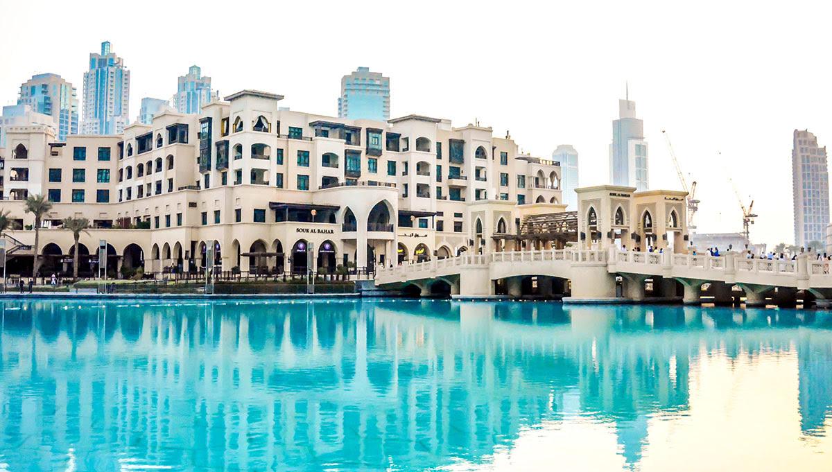 The Dubai Mall-UAE-United Arab Emirates-shopping-night view