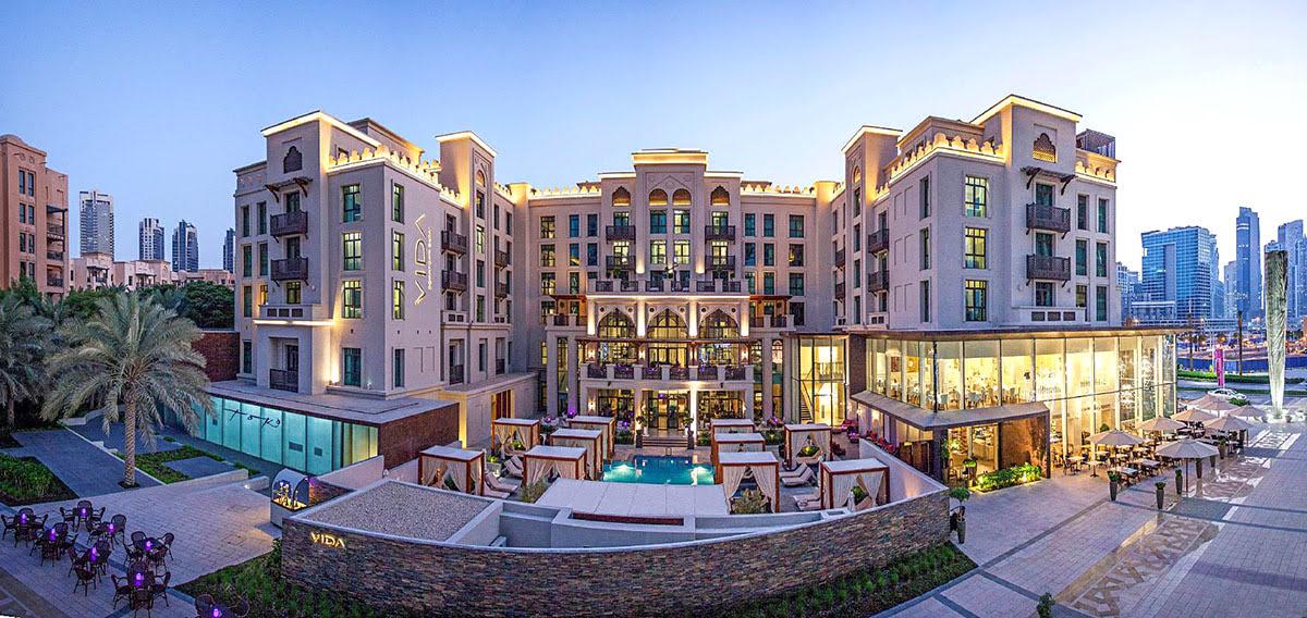 Hotels in Dubai-shopping-UAE-Vida Downtown Hotel