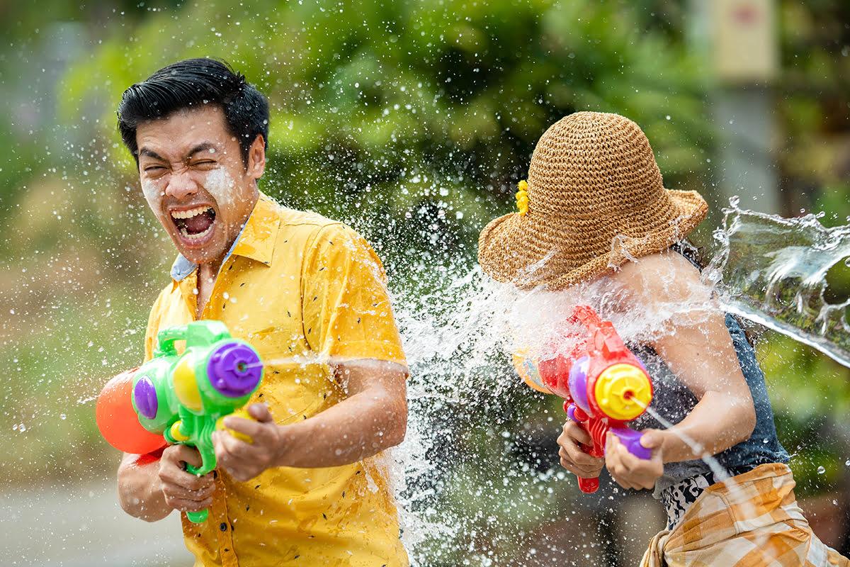 Water festivals-Thingyan in Myanmar