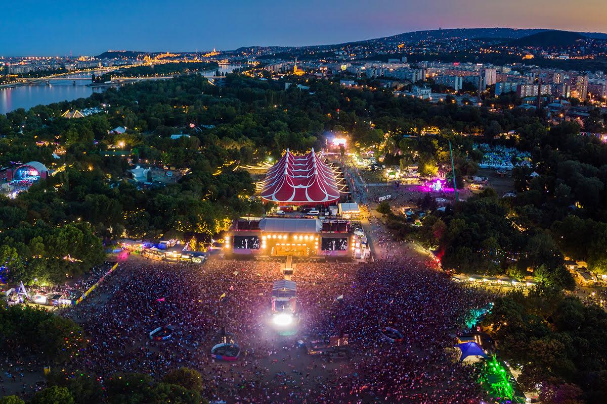 Music Festivals 2020-Sziget Festival