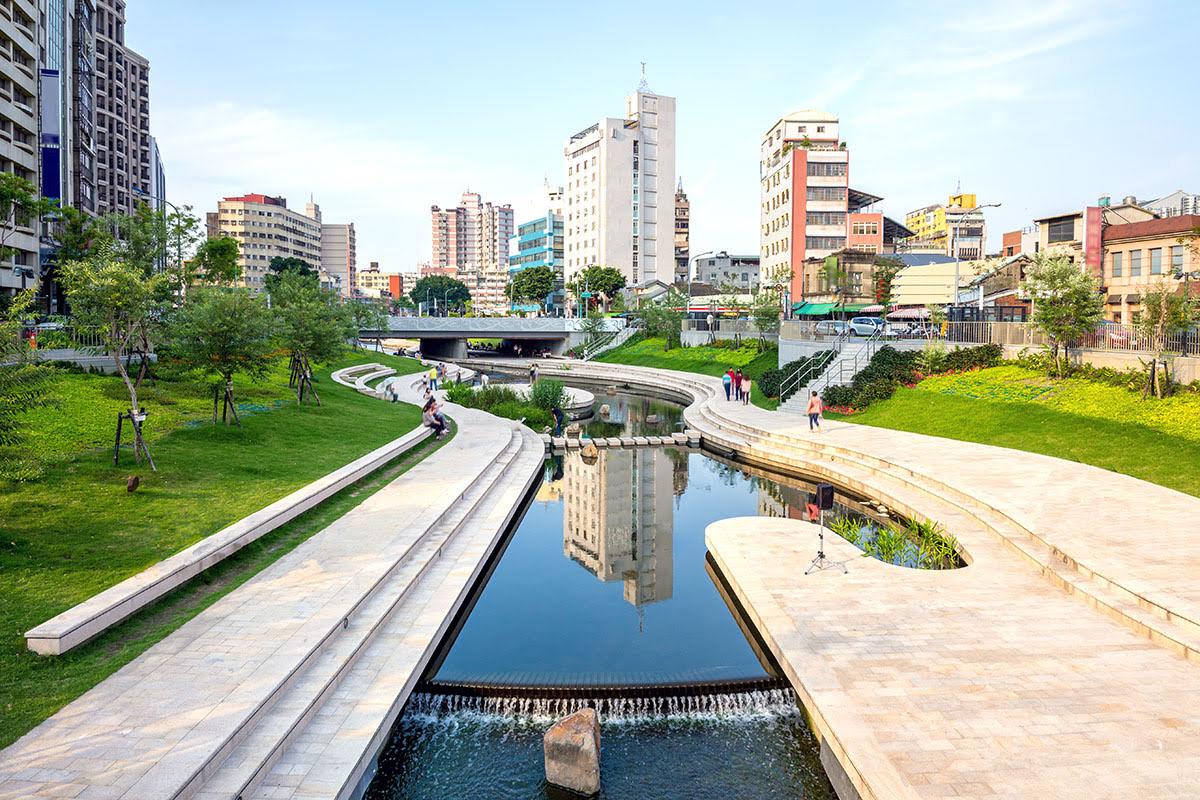 Things to do in Taichung-Taiwan-Central District-Liuchuan Riverside Walk