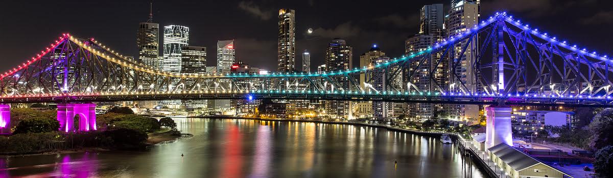 Featured photo-Story Bridge-Brisbane nightlife-Queensland
