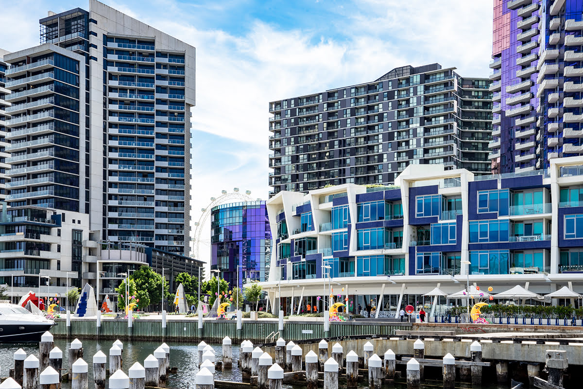 Shopping in Melbourne-Australia-District Docklands