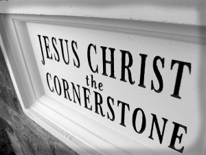 the significance of Christ as the cornerstone for God's building (Psalm 118)