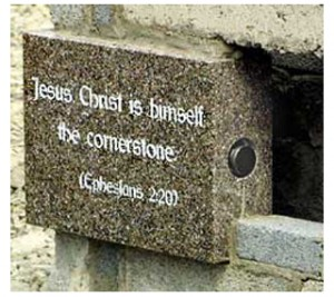seeing the importance of Christ as the stone in many aspects for God's building