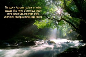 Being in the Stream of God's Move Today – Our God is Always Advancing and Going On