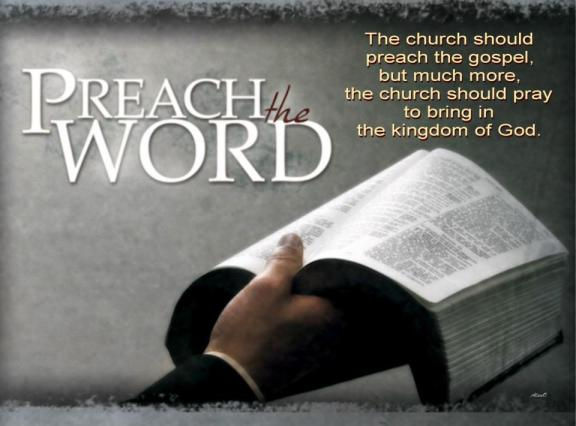 The church should preach the gospel, but much more, the church should pray to bring in the kingdom of God. (Watchman Nee, The Glorious Church)