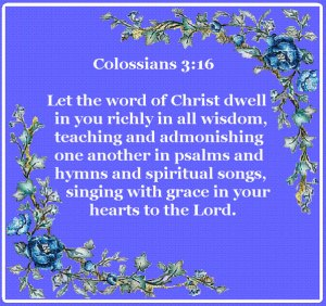 Letting the Peace of Christ Arbitrate in Us and Letting His Word Richly Abide in Us