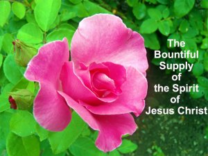 Experiencing the Bountiful Supply of the Spirit of Jesus Christ, the Compound Spirit