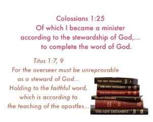 God's Economy has Become the Stewardship of God Given to All the Believers in Christ