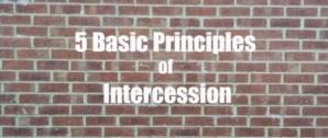 Five Basic Principles of Genuine Intercession Before God as Seen in Genesis 18