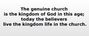 Living by the Spirit in the Church Life to be in Reality the Kingdom of God Today