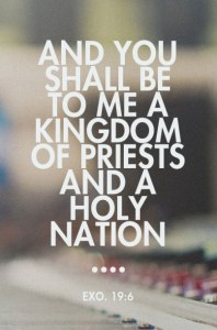 A Priest is one who Serves God, Lives to God, is Filled with God, and Flows God out