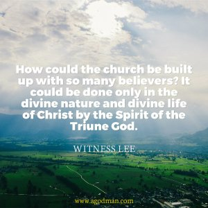 Being Joined with others by and in the Holy Spirit with the Holding Power of the Divine Nature