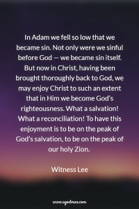 Christ was made Sin for us so that We might Become the Righteousness of God in Him