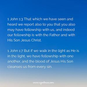 Having a Clear Sky by having Thorough Fellowship with the Lord and with the Saints