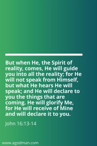 The Reality of the Body of Christ is the Spirit of the Reality of the Triune God