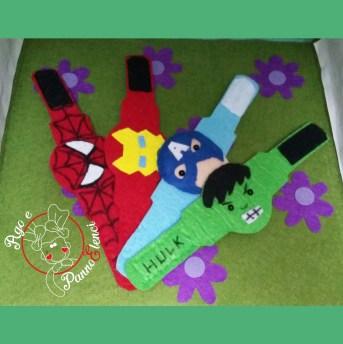 Braccialetti supereroi