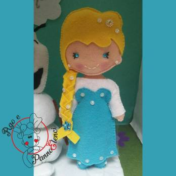 Cake topper Frozen