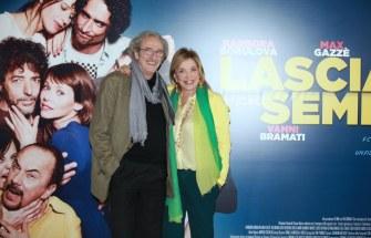 Mariano Riggillo e Simona Izzo. Foto Alfonso Romano / Ago Press