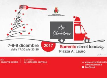 Eventi. Dal 7 al 9 dicembre, torna il Sorrento Street Food Village