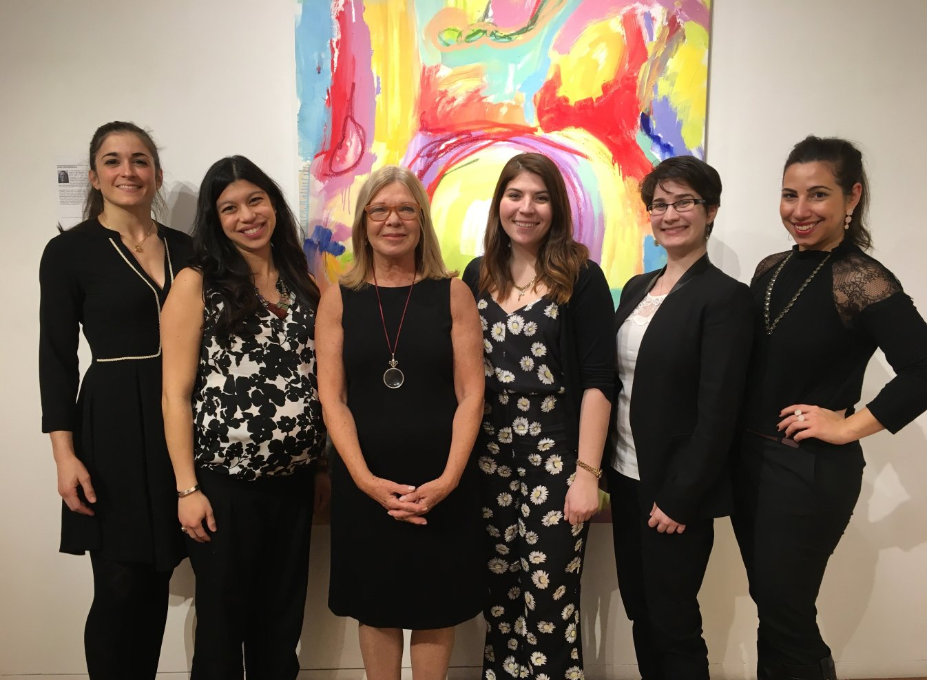 Woman in Art: Angela Di Bello and the ladies of Agora Gallry, 2016