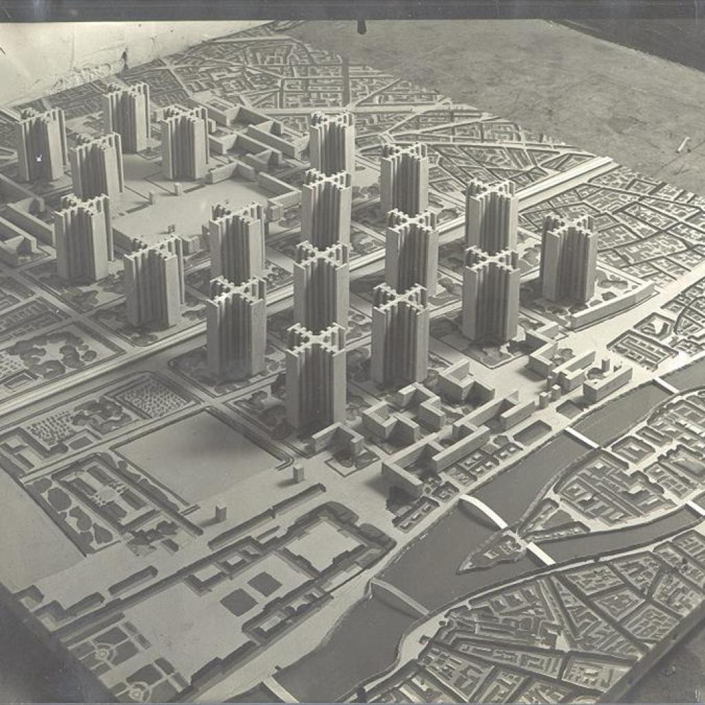 """Plan_Voisin_Le_Corbusier_1925"