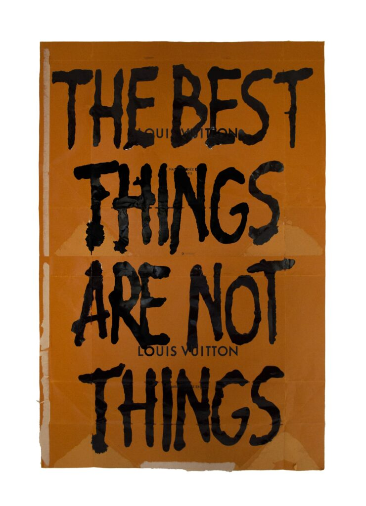 Pietro Terzini - The best things are not things