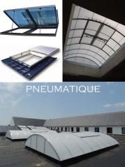 désenfumage naturel et ventilation naturelle en toiture pneumatique exutoire de désenfumage en toiture lanterneau pneumatique ouvrant de désenfumage co²