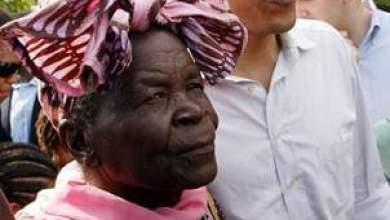"Photo of طمأنت الجميع بقولها ""هاكونا طابو"": جدة أوباما تصاب في حادثة سير في كينيا"