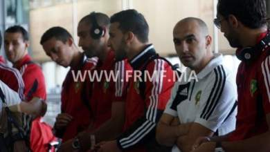 Photo of وصول المنتخب المغربي لمدينة دوربان