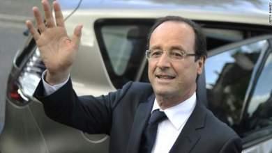 Photo of الرئيس الفرنسي هولاند في المغرب بداية أبريل