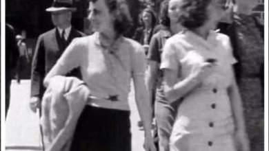 "Photo of لا علاقة للخبر بكذبة أبريل: المراهقة التي كانت تستخدم ""الموبايل"" قبل 75 سنة"