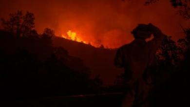 Photo of اجلاء نحو الف سائح بسبب حريق في اعلى جبل في الفيليبين