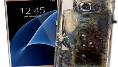 Photo of انفجار هاتف سامسونج Galaxy S7 في يد إمراة