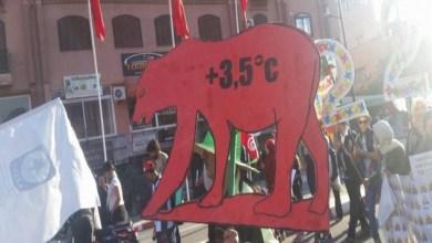 Photo of مسيرة بمراكش للمطالبة بعدالة مناخية كونية تنقد كوكب الأرض