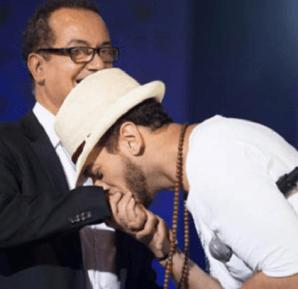 """البشير عبدو يطلب التصويت لإبنه سعد المجرد للتويج بـ""""الموريكس"""""""