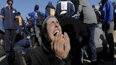 Photo of مئات الإسرائيليين يحتجون ضد هدم منازل مستوطنين في الضفة الغربية