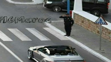 Photo of صورة جديدة لجلالة الملك بمدينة المضيق