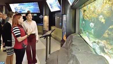 Photo of الأميرة للاحسناء تزور مركز فانكوفر للعلوم والأبحاث في المجال البحري