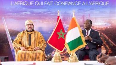 Photo of الملك محمد السادس والرئيس الإيفواري يدشنان محطة مجهزة لتفريغ السمك بلوكودجرو